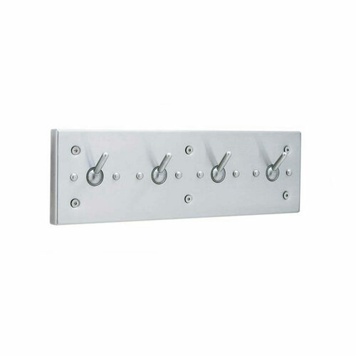 Bobrick 985 Vandal-Resistant Clothes Hook Strip