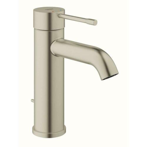 Grohe 23592ENA Essence Single Handle Monoblock Bathroom Sink Faucet in Brushed Nickel Infinity Finish