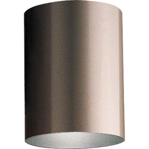 Progress Lighting P5774-20/30K Cylinder 17W Flushmount Outdoor LED Pendant, Antique Bronze