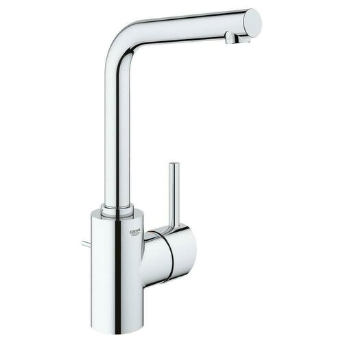 Grohe 23737002 Concetto Single Handle Centerset Bathroom Sink Faucet, StarLight Chrome