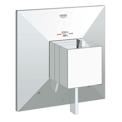 Grohe 19794000 Allure Brilliant 2-Function Thermostatic Trim Only with Control Module, Starlight Polished Chrome