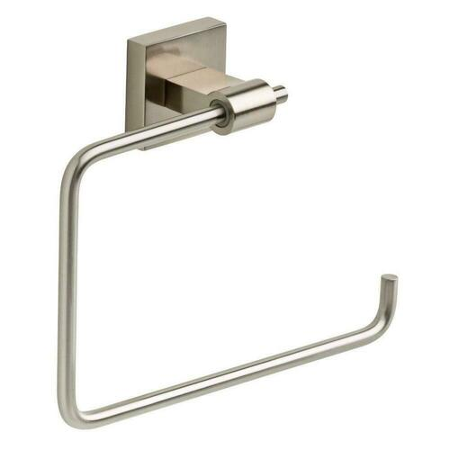 Liberty Hardware LMAX46SN Maxted Towel Ring, Satin Nickel