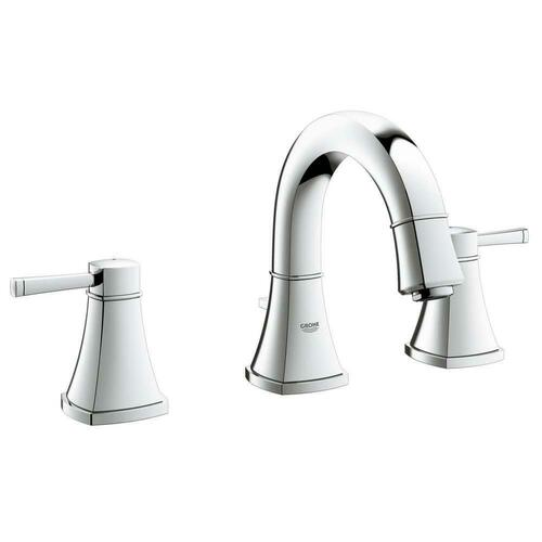 Grohe 2041800A Grandera Two Handle Widespread Bathroom Sink Faucet, StarLight Polished Chrome