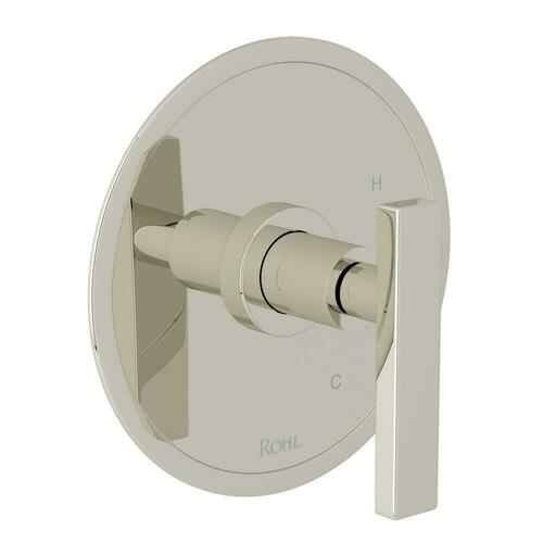 Rohl A2210LMPN Lombardia Avanti Single Handle Bathtub & Shower Faucet, Polished Nickel