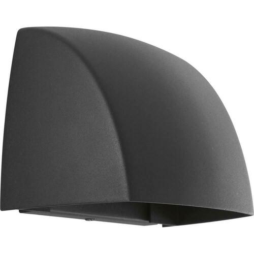 Progress Lighting P5634-3130K9 Cornice 9W 1-Light Outdoor Wall Sconce, Black