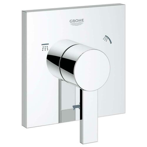 Grohe 19591000 Allure Tub and Shower Diverter Valve with Single Lever Handle, Starlight Polished Chrome