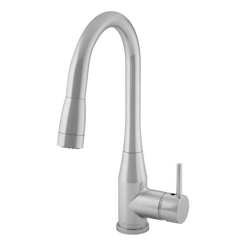 Symmons SYMS2302STSPD15 Sereno Single Handle Pull Down Kitchen Faucet, Stainless Steel