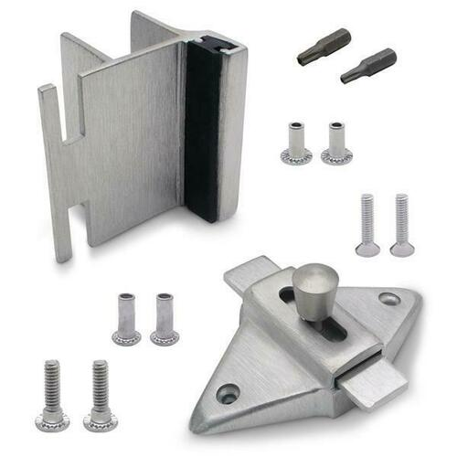 Jacknob 126793 Latch(5023), Strike & Keeper (5823) Inswing Combo Pack Stainless