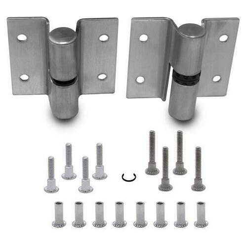 Jacknob 7043 Hinge-Surface Mounted (Lh-In/Rh-Out) .090