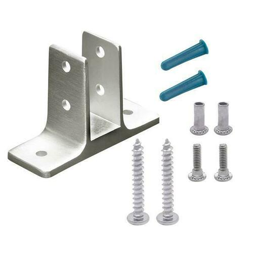 Jacknob 601593 Urinal Screen Bracket (1593) 3/4