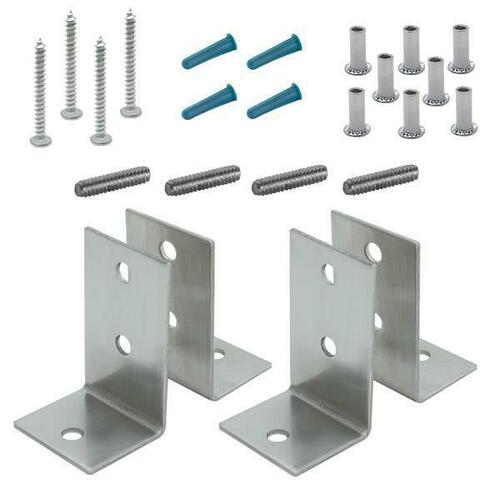 Jacknob 15529 Angle Bracket Pack Two Pair - Crss