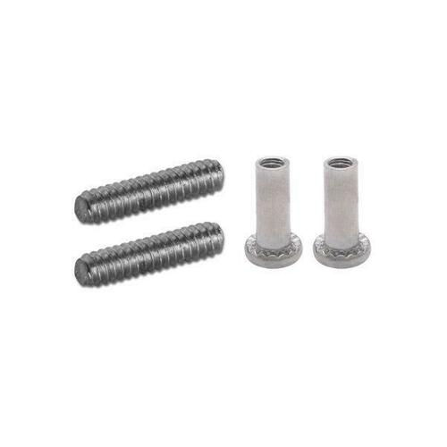 Jacknob 60099 Screw Pack - 5053 Latch & 5403 Pull (6Lp) Stainless