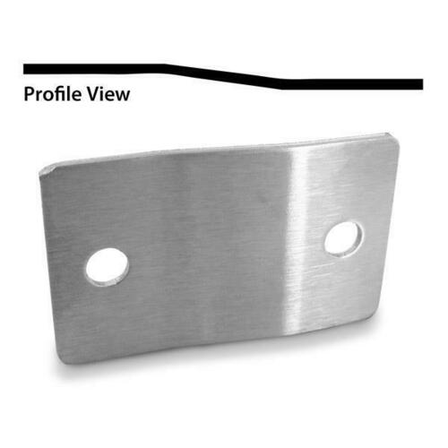 Jacknob 8349 Alcove Clip For Offset Panels - Crss