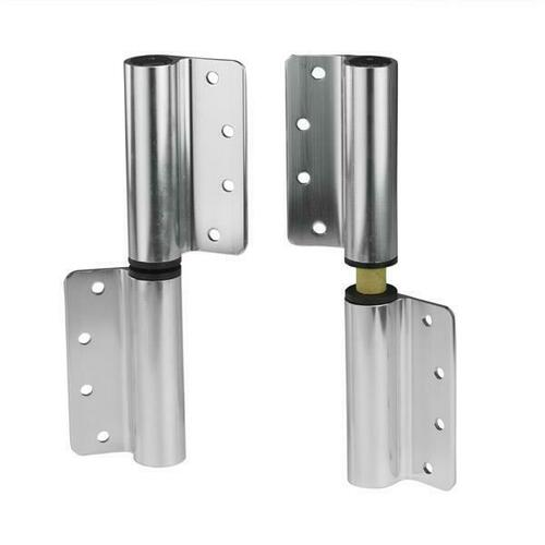 Jacknob 123314 Hinge-Surface Mounted (Lh-In/Rh-Out) - Flat 8984 Aluminum-Brite Dip