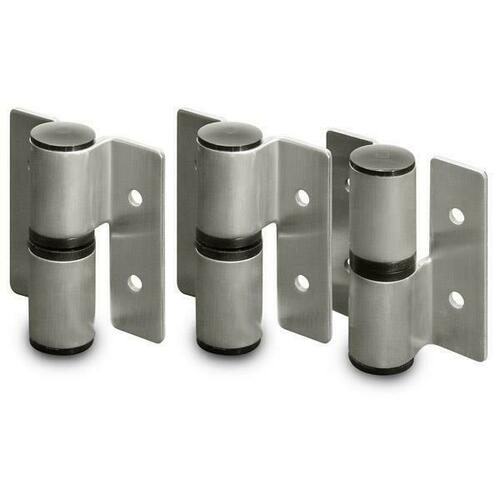 Jacknob 13639 Hinge-Surface Mounted (Rh-In/Lh-Out) Rd. Barrel (2T/1B Of 8169) Ss
