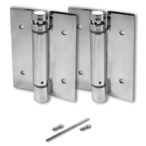 Jacknob 8653 Hinge-Surface Mounted-Tension Spring 5 X 3/32 Ss-Polish