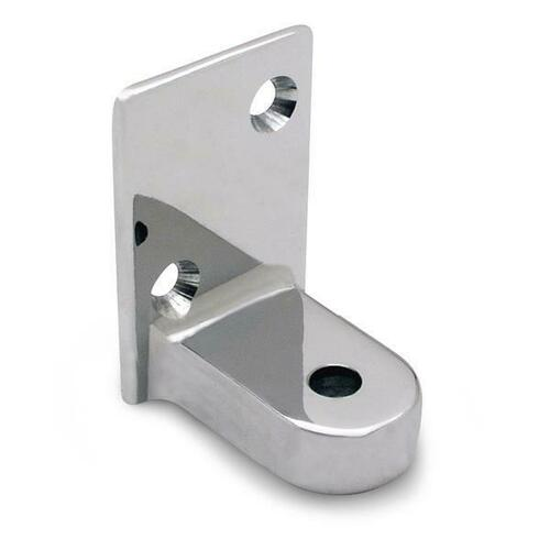Jacknob 111710 Hinge Bracket Bottom Flat (Global) Chrome