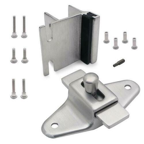 Jacknob 127023 Latch(5053), Strike & Keeper (5343) Inswing Combo Pack Stainless