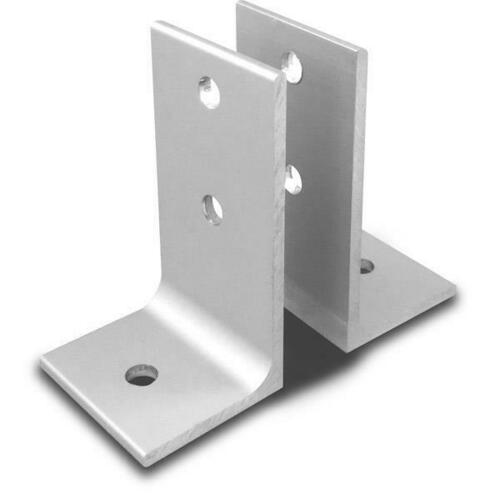 Jacknob 1864 Wall Bracket 2 Piece Aluminum