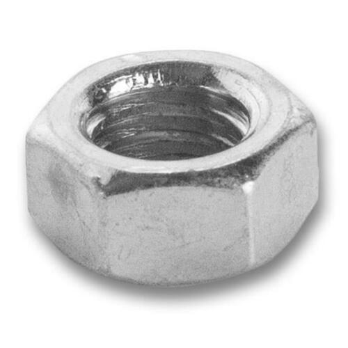 Jacknob 990096324 100 Pack (96324) Nut, 3/8-16 Finished Hex-Zinc