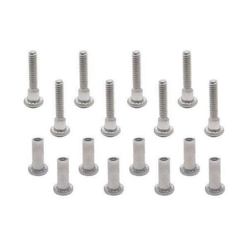 Jacknob 60579 Screw Pack - 7813 Pivot Hinge-6Lp Stainless