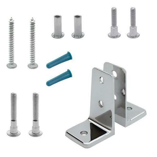 Jacknob 15530 Angle Bracket Pack Two Piece