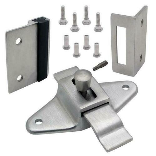 Jacknob 126943 Latch(5063), Strike & Keeper (5163/5173) Inswing Combo Pack Stainless