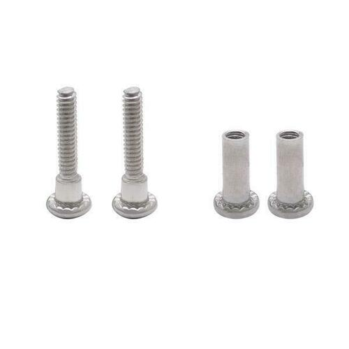 Jacknob 60089 Screw Pack - Latch /Hinge Or Strike And Keeper For 1