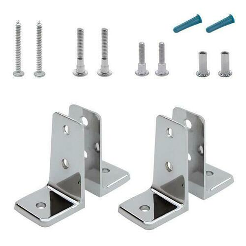 Jacknob 615520 Angle Bracket Pack Two Pair 6Lp