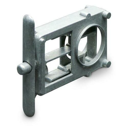 Jacknob 6606 Latch Housing - Concealed-New-Unpltd (For Metal Doors Only)