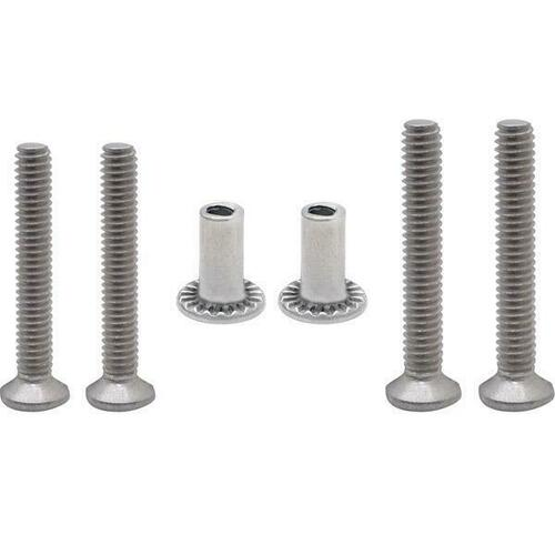 Jacknob 59 Screw Pack - 5023 Latch - Stainless