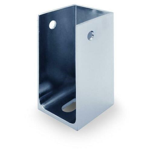 Jacknob 3080 Pilaster Shoe Post Shoe-Split-Chrome For 1-1/4
