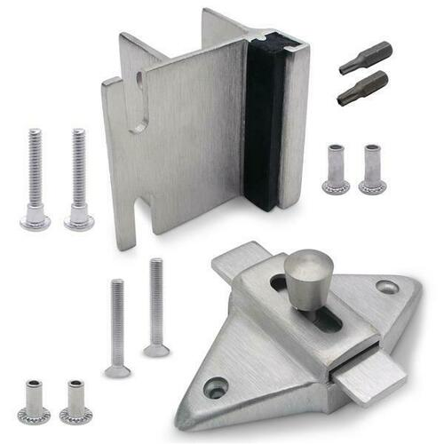 Jacknob 126813 Latch(5023), Strike & Keeper (5343) Inswing Combo Pack Stainless