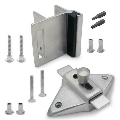 Jacknob 126803 Latch(5023), Strike & Keeper (5113) Inswing Combo Pack Stainless