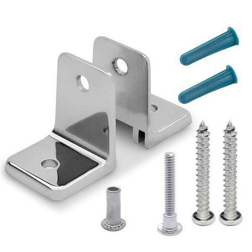 Jacknob 601580 Wall Bracket 2 Piece Mini & Screw Pack-6Lp