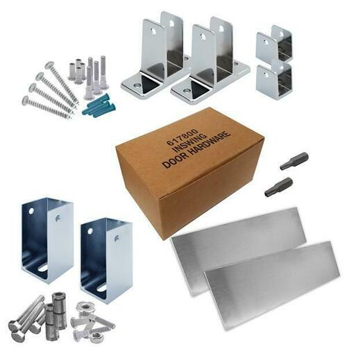 Jacknob 6201110 Hardware Kit-Addtnl Stall-In- 1-1/4