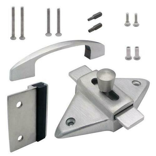 Jacknob 126733 Latch(5023), Strike & Keeper (5173), Pull (6203) Outswing Combo Ss