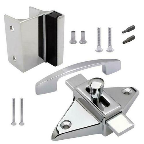 Jacknob 126890 Latch(5020), Strike & Keeper (5410), Pull (6200) Outswing Combo Pack
