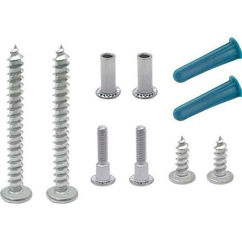 Jacknob 360 Screw Pack - Wall Bracket 7/8