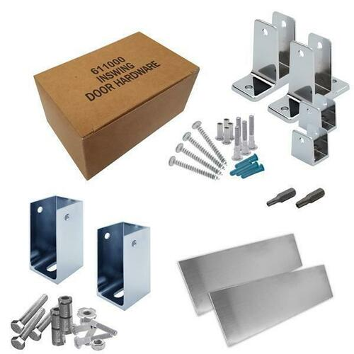 Jacknob 6201210 Hardware Kit-Addtnl Stall-In- 1-1/4