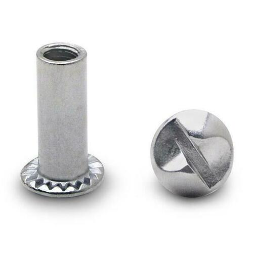 Jacknob 9703 Barrel Nut One Way 10-24 X 1/2