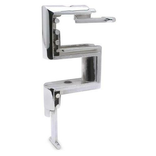Jacknob 4550 Door Insert-Top-Fl-Chrome Plated