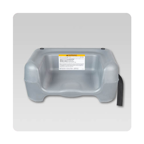 Koala Kare KB855-01S Restaurant Booster, Grey