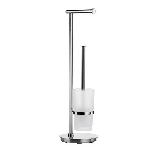 Smedbo FK607 Toilet Roll & Brush, Stainless Steel