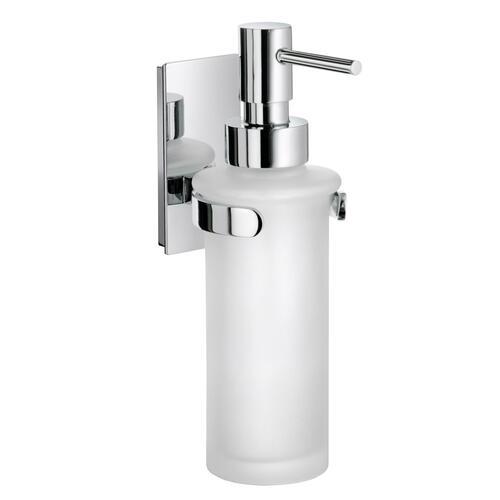 Smedbo ZK369 Holder with Glass Soap Dispenser