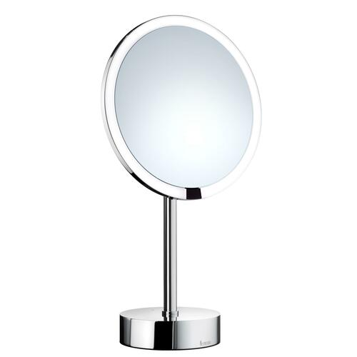 Smedbo FK488EP Shaving/Make-up Mirror Led Lighted, Chargeable