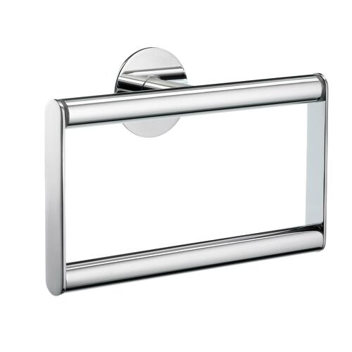 Smedbo YK344 Towel Ring, Polished Chrome