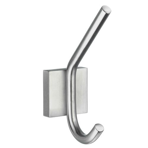 Smedbo RS358 Bath Robe Hook, Brushed Chrome