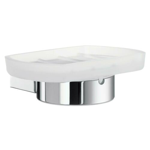 Smedbo AK342 Holder with Soap Dish Frosted, Polished Chrome