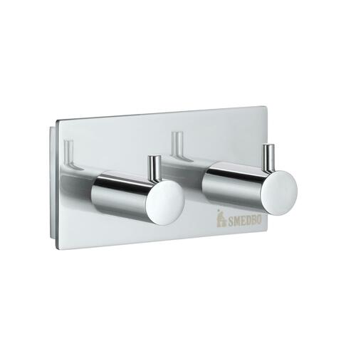 Smedbo ZK356 Double Towel Hook